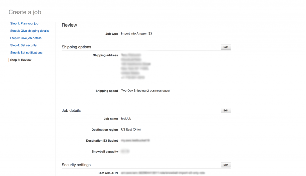 Seeding Data with AWS Snowball Edge | Help Center